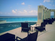 Sun Palace Resort, Cancun.  Patio reception space. https://www.facebook.com/BlissfulMoons