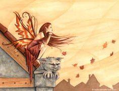 Autumn Winds by SelinaFenech Free Cross Stitch Charts, Dmc Cross Stitch, Fantasy Cross Stitch, Cross Stitch Letters, Cross Stitch Books, Cross Stitch Stocking, Devian Art, Winter Fairy, Autumn Lights