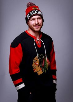 Stay cozy this holiday season while representing your favorite team! Save 20% off on the items Andrew Desjardins is modeling today only (Dec. 21). Stop by the #Blackhawks Store today before our holiday offers are over!