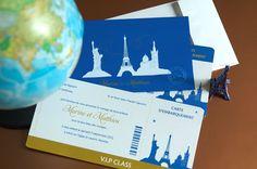 Cet article Faire-part Billet Avion<br> Voyage NY Paris Marseille est apparu en premier sur L'Atelier d'Elsa Faire-part - faire-part de mariage et de naissance créé sur mesure, papeterie originale Jour J et carterie évènementielle.