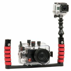 Ikelite Quick Release Kit for GoPro. Capture video whilei shooting stills!
