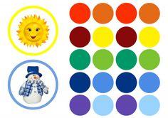 hideg és meleg színek a gyermekek számára File Folder Games, Motor Activities, Educational Games, Sensory Play, Close Image, Crafts, Arrow Keys, Fine Motor, Butterflies