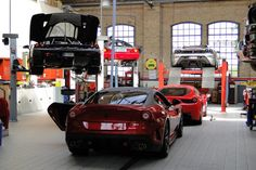 Car museum, garage, show room