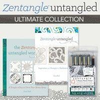 Zentangle Untangled Ultimate Collection | InterweaveStore.com  FOR ME!
