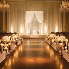 50 best eveningindoor wedding ceremonies images on pinterest modern evening ceremony indoors junglespirit Gallery