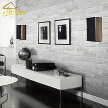 Profunda Tijolo Moderno Papel De Parede de Tijolo Do Vintage Padrão de Pedra Em Relevo 3D Papel De Parede Rolo de Papel Para sala de estar de Parede revestimento de parede Decoração(China (Mainland))
