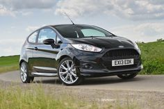 2013 Ford Fiesta 1.0 Ecoboost Zetec S Panther Black front