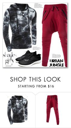 """Sport Style"" by jecakns ❤ liked on Polyvore featuring men's fashion and menswear"