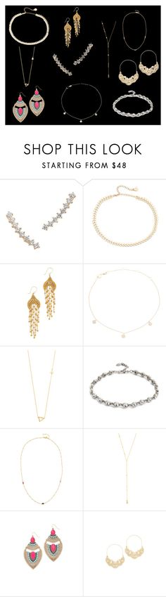 """""""accessories for you"""" by monica022 ❤ liked on Polyvore featuring Gorjana, Cloverpost, Miguel Ases, Jennifer Zeuner, Ben-Amun, Adia Kibur and vintage"""