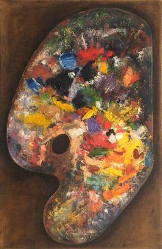 Palette - Monet