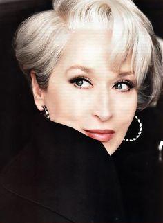 Meryl Streep as Miranda Priestly; 2006 The Devil Wears Prada;