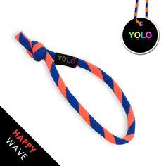 HAPPY WAVE - YOLO! www.yoloshop.pl NEON ORANGE&BLUE