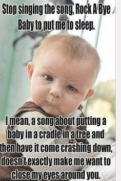 Stop singing the song, Rock A Bye Baby.... Thank You God, Daily Prayer, God Jesus, Salvador, Prayer Request, Have Fun, Prayers, Baseball Cards, Funny Pictures