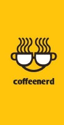 Food/Drink Logo: Coffee Nerd