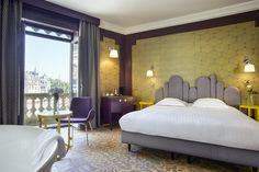 Light collection by Midj in Italy @ Grand Hotel du Midi, Montpellier, France.
