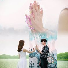 W Two Worlds (☆☆☆☆☆) You gonna fall in love with this drama Lee Jong Suk, Jung Suk, Lee Jung, Drama Film, Drama Movies, W Two Worlds Art, Goblin, W Korean Drama, W Kdrama