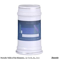 Periodic Table of the Elements Beer Stein by Janz