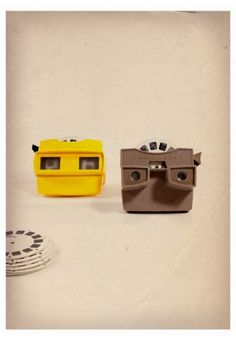 """View-Master is the trademark name of a line of special-format stereoscopes and corresponding View-Master """"reels"""", which are thin cardboard disks containing seven stereoscopic 3-D pairs of small color photographs on film. It was invented in 1939 by Oregon based Wilhelm Gruber and introduced at the New York World's Fair."""