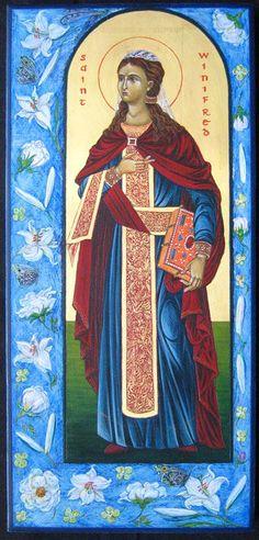 St. Winifred - Marchela Dimitrova