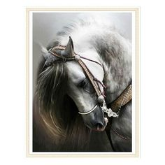 Find More Diamond Painting Cross Stitch Information about Square Drill Diy 5D Diamond Painting Horse Head Drawing Diamond embroidery Cross Stitch Mosaic Picture of Rhinestones No Frame,High Quality picture of rhinestones,China mosaic pictures Suppliers, Cheap diy 5d diamond painting from Prajnan CraftCollection Store on Aliexpress.com