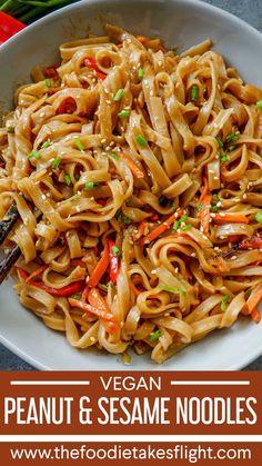 Three Easy Noodle Recipes (Vegan & Budget Friendly) recipes chicken recipes crockpot recipes easy recipes for dinner recipes healthy food recipes Vegan Dinner Recipes, Whole Food Recipes, Cooking Recipes, Budget Recipes, Vegan Recipes Chinese, Vegetarian Kids Recipes, Tasty Vegan Recipes, Chinese Noodle Recipes, Diner Recipes