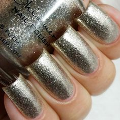 KBShimmer Nail Polish in Foiled Swatch