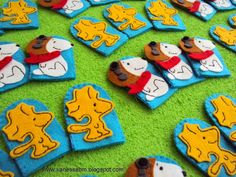 Vanessa Biali: Dedoches Snoopy e Woodstock