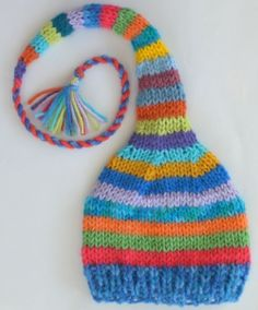 See this on Ella in her favorite colors.  This will be fun to make with her.                                                                                                                                                     More