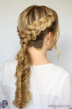 dutch-braid-fishtail-braid-hairstyle-tutorial