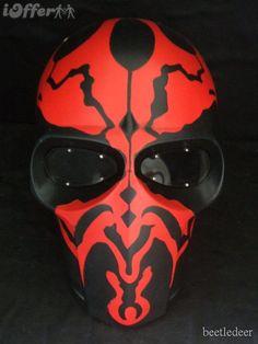 Darth Maul paintball mask!