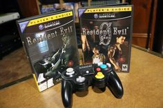 Resident Evil Remake and RE0 for Nintendo Gamecube