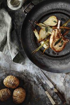 Pork cutlets Food & Prop Styling www.kirstybrysonfoodstylist.com Photography http://bechudson.com.au
