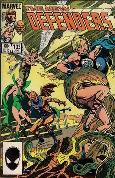 NEW DEFENDERS # 132 MARVEL COMICS PETER GILLIS / DON PERLIN 1984 vf-(7.5) ~~