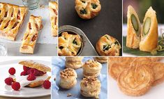 Frozen Puff Pastry: Recipes and Tips. learn how to turn this supermarket staple into party-ready hors d'oeuvres, easy main courses, and festive desserts. Puff Pastry Dough, Frozen Puff Pastry, Puff Pastry Recipes, Puff Pastries, Elegant Appetizers, Finger Food Appetizers, Sweet Recipes, Dessert Recipes, Food And Drink