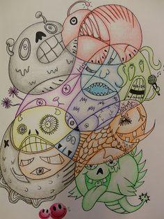 Art Mash: sketchbook