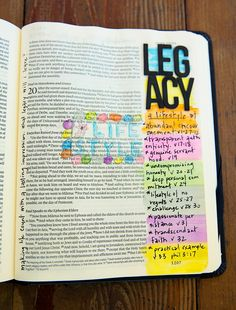 Bible journaling.  she has lots of ideas, kelly.  didn't know if it would help you or not.