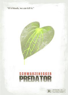 Predator (1987) - Minimal Movie Poster by Ridd Sorensen ~ #minimalmovieposter #alternativemovieposter #riddsorensen
