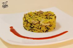 Curried Wild Rice with Chicken and Mushrooms Tapas Recipes, Candy Recipes, Diet Recipes, Chicken Recipes, Best Spanish Food, Salsa Picante, Stuffed Mushrooms, Stuffed Peppers, Spicy Sauce