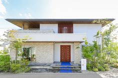 外観 Sekisui House, Zen House, Type 4, Villa, Tropical, Exterior, House Design, Architecture, Outdoor Decor