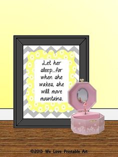 Signs Sayings Girls Bedroom Gray Chevron by WeLovePrintableArt, - Modern Baby Girl Nursery Decor, Nursery Signs, Room Signs, Nursery Room, Framed Quotes, Sign Quotes, Grey Chevron, Gray Bedroom, Kid Spaces
