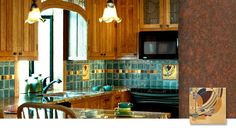 Motawi Tile - Frank Lloyd Wright Kitchen Installation