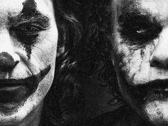 Joker Heath, Gotham Batman, Blockbuster Movies, Heath Ledger, Joaquin Phoenix, Joker Quotes, Joker And Harley, Lee Jeffries, Jared Leto
