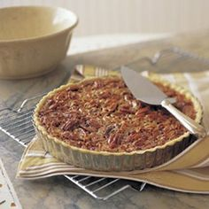 Classic Pecan Tart This recipe is a keeper and the tart crust recipe is very light and versatile. I doubled the bourbon and omitted the orange zest. Pecan Recipes, Tart Recipes, Sweet Recipes, Dessert Recipes, Dessert Tarts, Desserts To Make, Delicious Desserts, Mini Desserts, Pecan Tarts