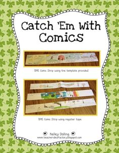 Catch 'Em With Comics - Sequencing Activity