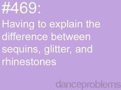 #danceproblems hahhaha actually being able to describe the difference is a problem in itself.