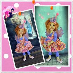 outfit for duda and american girl doll by the trinket box BJD by JazzyRagsFran on Etsy