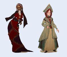 Dresses by Ailovc.deviantart.com on @deviantART