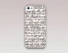 Vintage Music Sheet Phone Case For iPhone by ShopCatchingRainbows