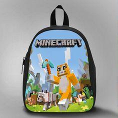 ... Backpack Bag Minecraft Creeper PreSchool by BagBagus on Etsy f3997bc384997