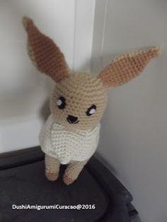 Zo Eevee is ook weer klaar. Het is een van de pokemons die ik heel leuk vind om te zien, en ook om te maken viel hij niet tegen. Het patroo...